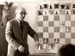 Давид Бронштейн рассказывает о королевском гамбите, 1986 г.