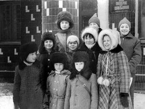 Команда шахматистов Волгоградского района 1987 г.