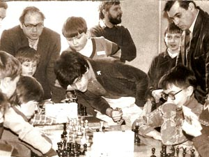 Фрагмент шахматного поединка