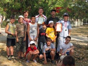 Шахматисты шахматной школы Кузьминки и тренеры