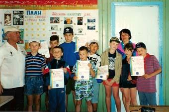 Кузьминские шахматисты в Одессе, 1998 г.