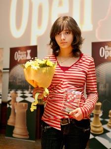 Лана заняла 1 место в турнире